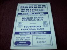 Bamber Bridge v Southport, 2000/01 [Fr]